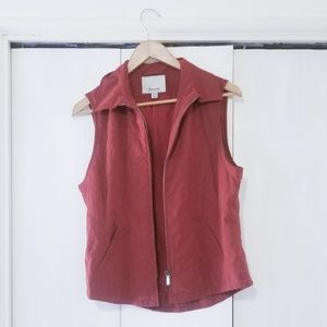 Faconnable Women's Red Vest